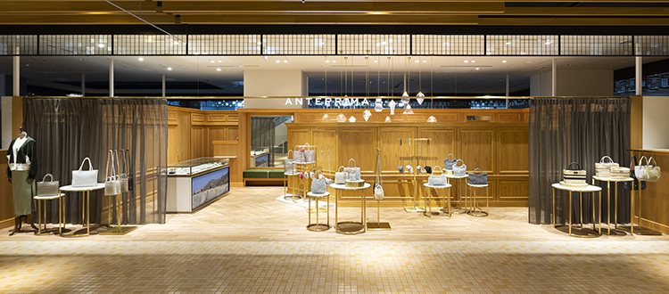 ANTEPRIMA渋谷スクランブルエア店Zoomによるオンライン接客