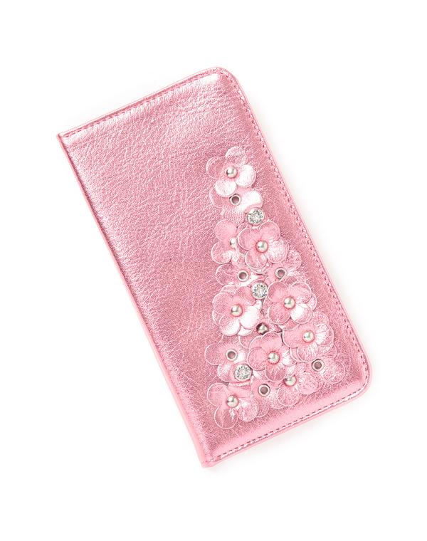 マッツェット小物/iPhone 7 ケース/ピンク